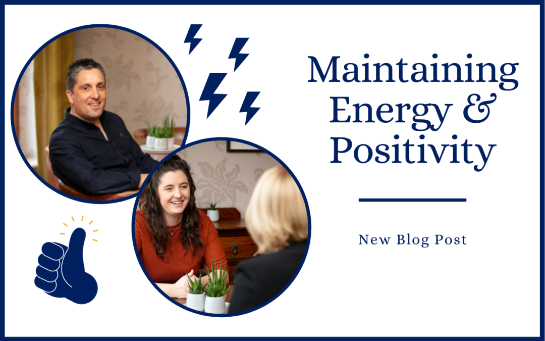 Maintaining energy & positivity as a business owner
