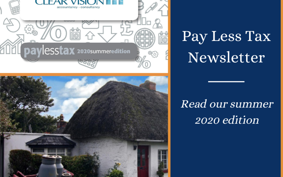 Pay Less Tax Summer 2020 – your latest tax news and insights