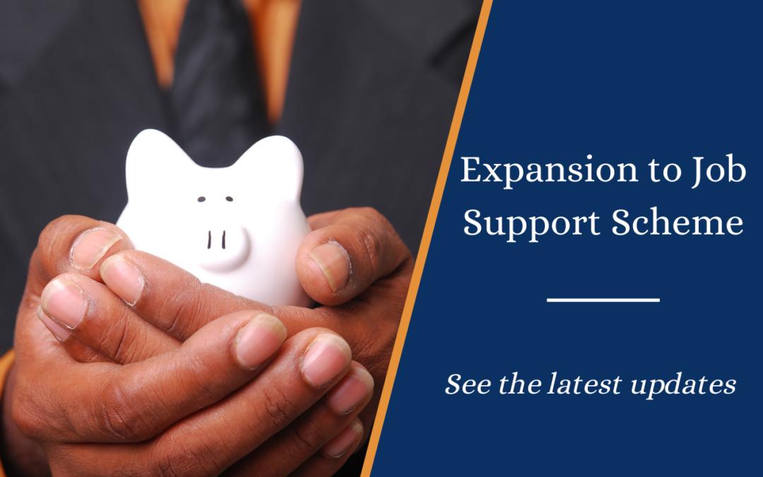 Expansion to Job Support Scheme (JSS)