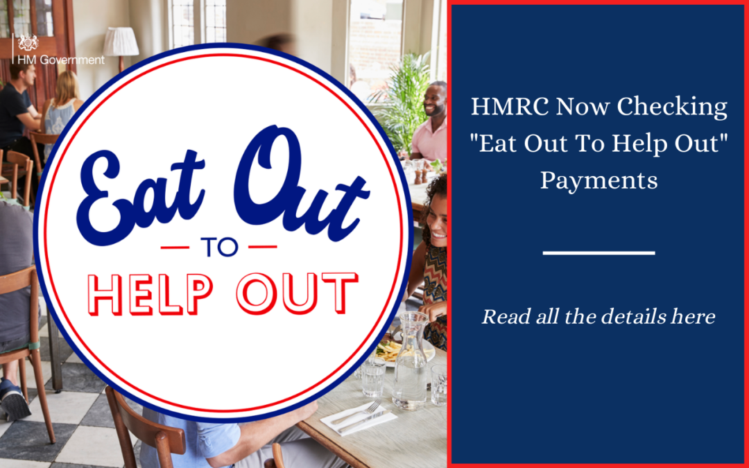 """HMRC now checking """"Eat Out"""" payments"""