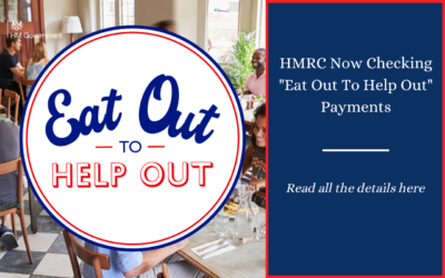 "HMRC now checking ""Eat Out"" payments"