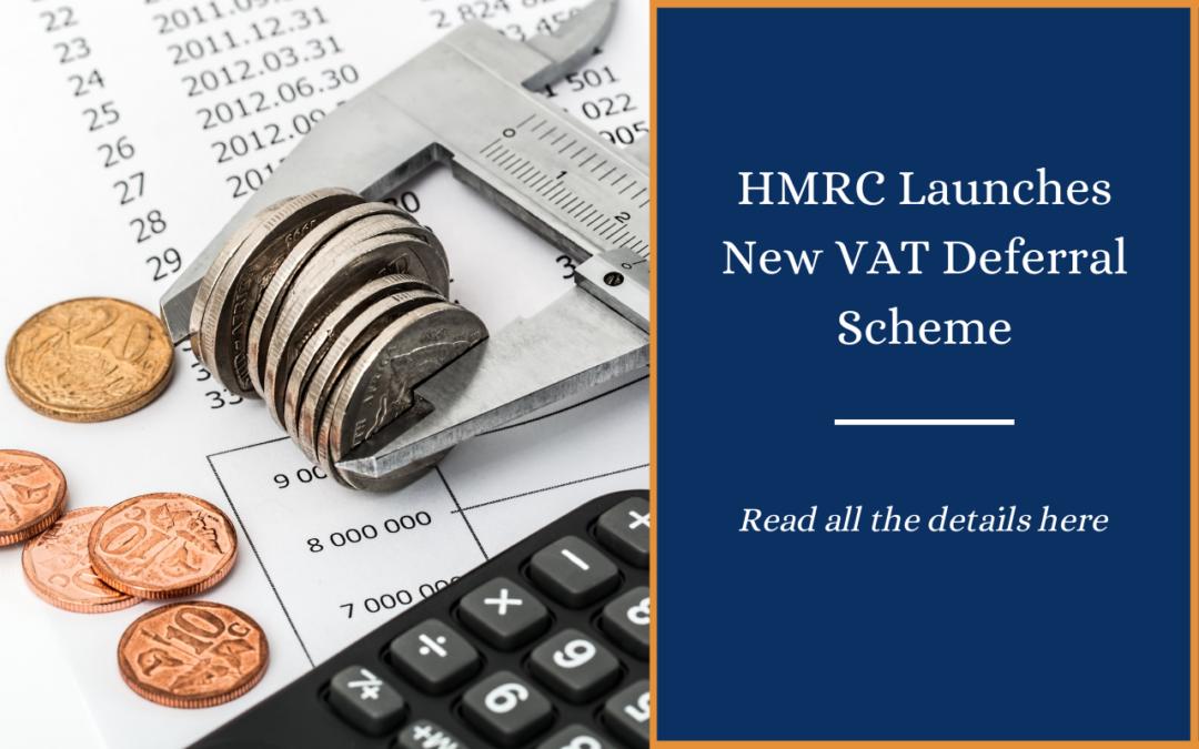 HMRC launches new VAT deferral scheme