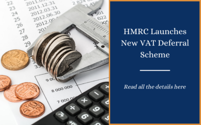 HMRC launches new VAT deferral scheme