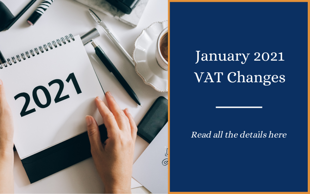 VAT Changes from 1 January 2021