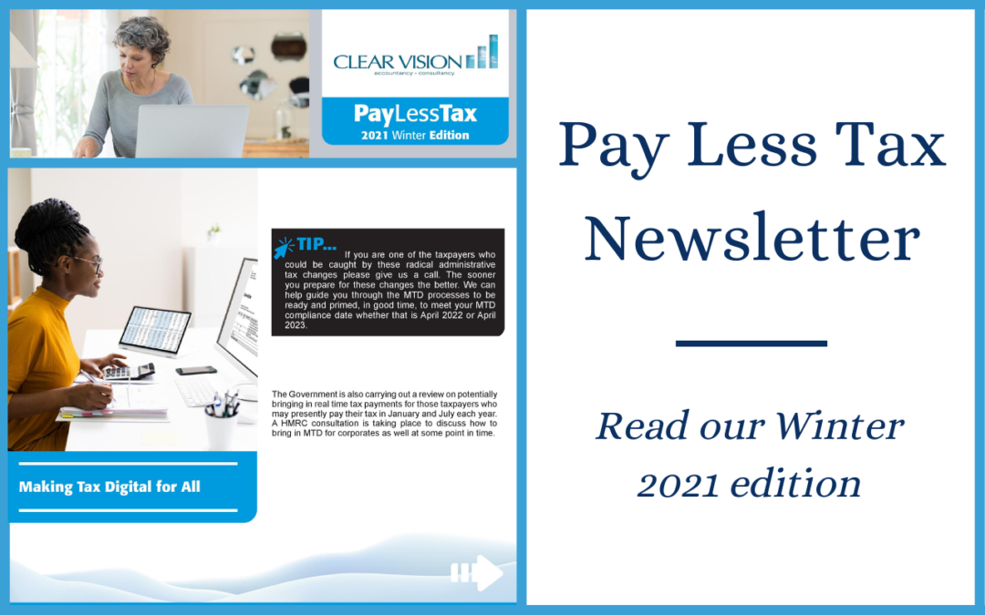 New 'Pay Less Tax' Winter Edition – your latest tax news and insights