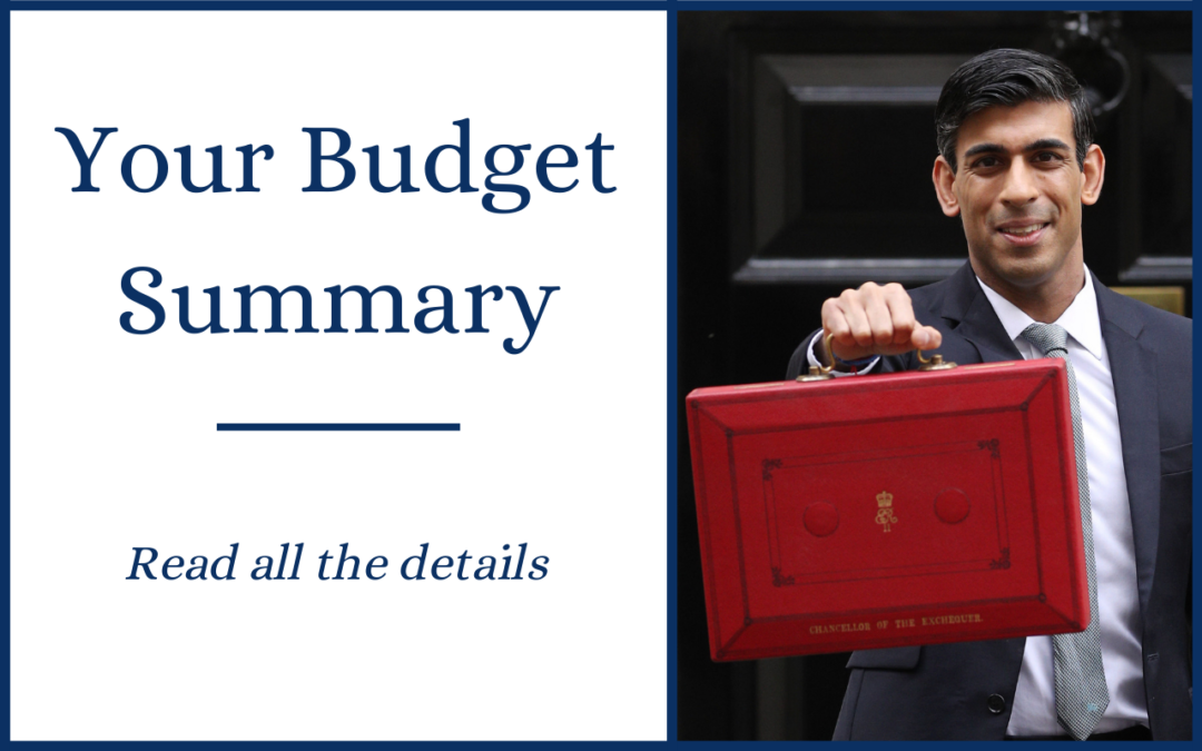 Spring Budget 2021 – Your Summary