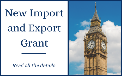 Government import and export grant now available