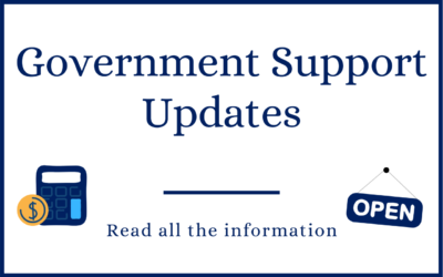 Government support updates for the new tax year