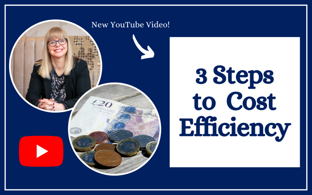 3 Steps to Business Cost Efficiency