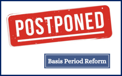 Government's Basis Period Reform Postponed