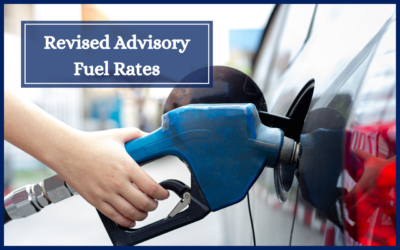 Revised Advisory Fuel Rates for Company Cars
