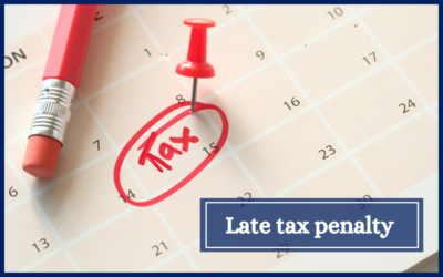 Late Tax Penalty Payment Rules Made Clear