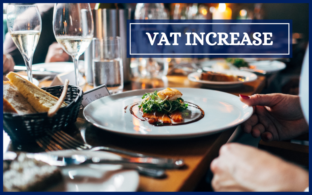 New reduced VAT rate for hospitality businesses